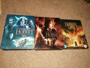The-Hobbit-Steelbook-Extended-Editions-bluray-See-Description