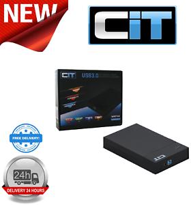 """Cit 2.5"""" & 3.5"""" Usb 3.0 Sata Tooless Hdd Enclosure Mr35tu3-afficher Le Titre D'origine"""