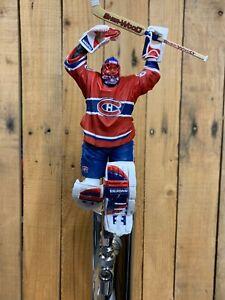 Montreal-Canadiens-Hockey-Beer-Tap-Handle-Jose-Theodore-Red-Jersey-Goalie-Habs