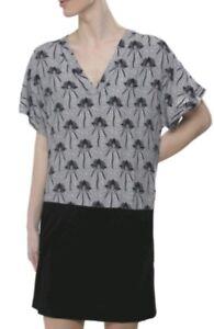 f28dfaef Image is loading Designer-GANNI-Margerita-contrast-dress-size-L-USED-