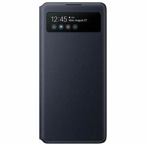 Original-Samsung-S-View-Wallet-Cover-Huelle-EF-EG770-fuer-Galaxy-S10-Lite-Schwarz