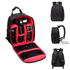 Waterproof DSLR Camera Backpack Shoulder Bag Case For Canon For Nikon For S
