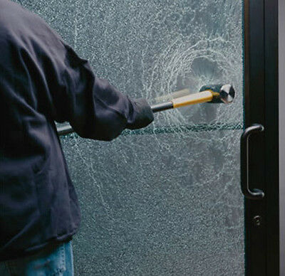 Safety Security Window Film SEC 04 Anti Shatter Clear Glass Protection