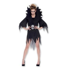Disfraz-Halloween-Dama-Horror-Lady-Adulto-Mujer-Talla-Unica-DE-RUBIE-Sexy-Nuevo