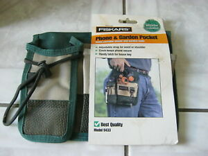 Garden Waist Apron-Phone and garden tools pocket