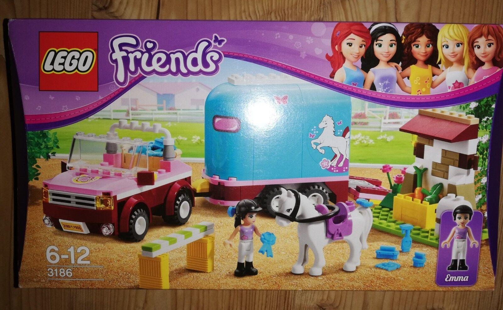 LEGO Friends Geländewagen mit Pferdeanhänger (3186)    Adoptieren
