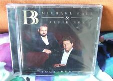 """Alfie Boe/Michael Ball New Sealed """"Together"""" CD +Somewhere/Never Walk Alone"""