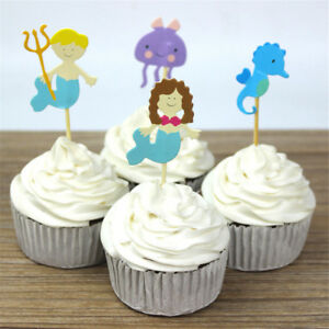 24pcs-ocean-style-hippocampus-mermaid-cupcake-toppers-decor-party-supplies-ATA