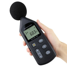 Noise Tester Sound Level Meter Audio Decibel 30130dba Factory Pre Calibrated