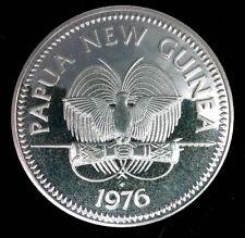 PAPOUASIE NOUVELLE GUINEE - 5 KINA 1976  EN ARGENT