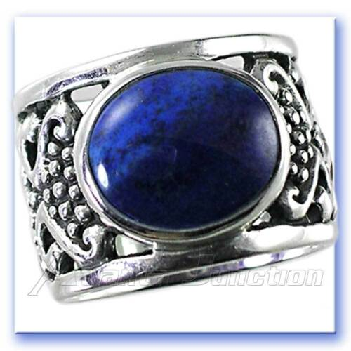 Details about  /BALI DESIGNER/_TURQUOISE FILIGREE WIDE BAND RING/_SZ-7/_925 STERLING SILVER NF