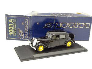 Eligor-1-43-Citroen-Traction-11CV-Noire-1938