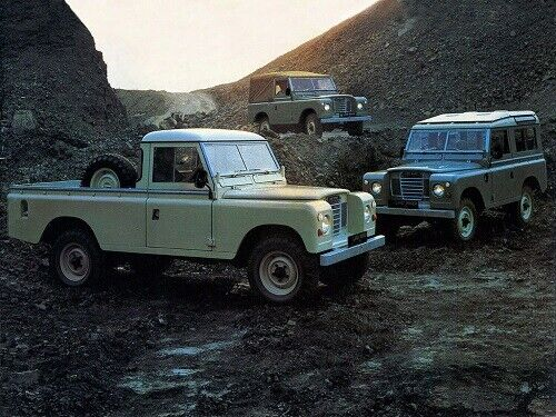 LAND ROVER  SERIES-III /'88/' /& /'109/' RETRO POSTER BROCHURE CLASSIC ADVERT A3 !