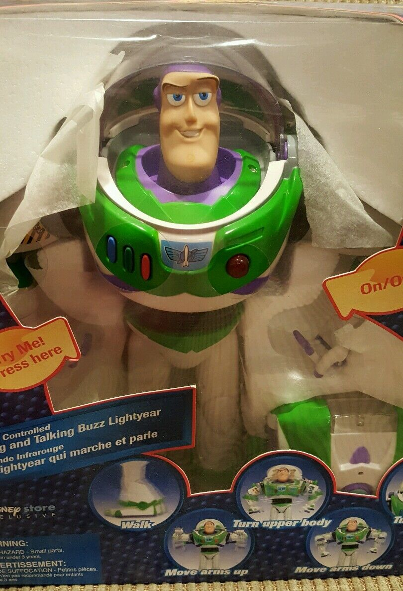 Toy Story Story Story and Beyond Buzz Lightyear walking and talking infra-red controlled befdb4