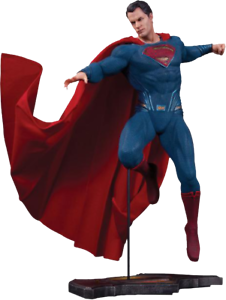 BATMAN v SUPERMAN  Dawn of Justice - Superman 12  Statue (DC Comics)  NEW