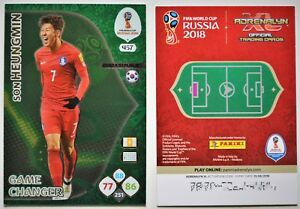 Panini-Adrenalyn-XL-World-Cup-2018-Russia-game-changer-n-457-heungmin-kor
