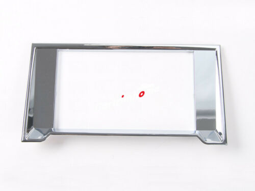 ABS Chrome Dashboard Navigation Frame Cover Trim For Ford F150 F-150 15-19