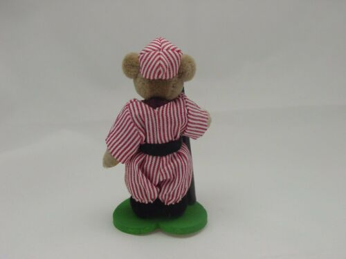 "World Of Miniature Bears 2.5/"" Pelúcia Urso Slugger #674R Colecionável Urso"