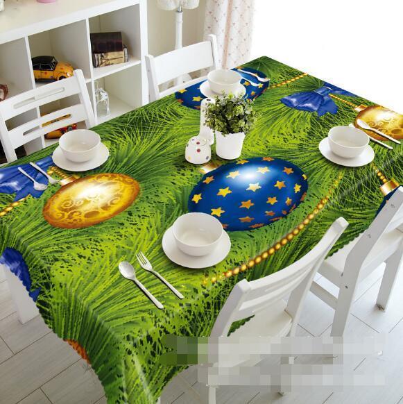 3D Cute Ball 6 Tablecloth Table Cover Cloth Birthday Party Event AJ WALLPAPER AU