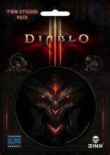 Diablo 3 III - Demon Face Sticker * NEW Jinx licensed Blizzard item