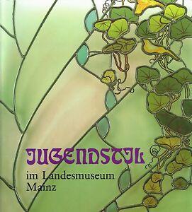 Fachbuch-Jugendstil-in-Mainz-Glas-Keramik-Metall-Moebel-Porzellan-REDUZIERT