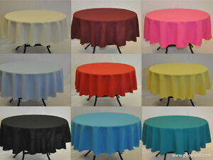 Round-Polyester-Fabric-Tablecloth-over-locked-using-quality-cotton-thread
