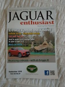 Details about Jaguar enthusiast magazine September 2018 vol 34 no 9