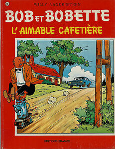 EO-WILLY-VANDERSTEN-BOB-ET-BOBETTE-L-039-AIMABLE-CAFETIERE-DESSIN-ORIGINAL-VOECKEN