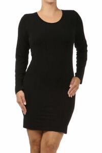 M-Rena-Plus-Size-Seamless-Long-Sleeve-Dress-One-Size