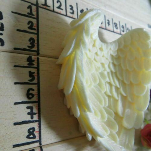 Silicone Soap Mold Angel Wings Shaped Fondant Cake Decoration Baking Tool Pastry