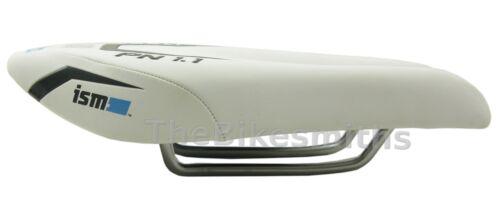 ISM PN1.1 Foam Gel Narrow Split Bike Saddle Road Race Triathlon Seat Black White
