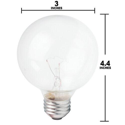 Philips 40w 120v G25 Clear DuraMax E26 Decorative Incandescent Light Bulb