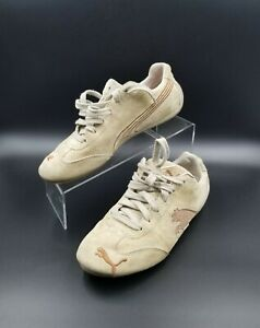 Baskets 5 brunes daim non Puma 5 ignifugées Vintage en équipées taille Cat Speed BZrBqp14w