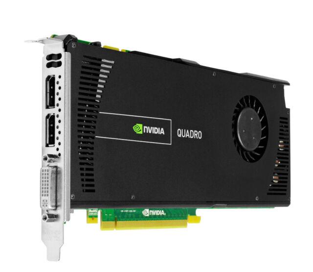 NVIDIA QUADRO 4000 V2 2GB DDR5 scheda grafica professionalmente 3D CUDA DVI