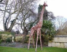 Ordinaire Extra Large Giraffe Garden Ornament, Safari Giraffe Large Outdoor Statue