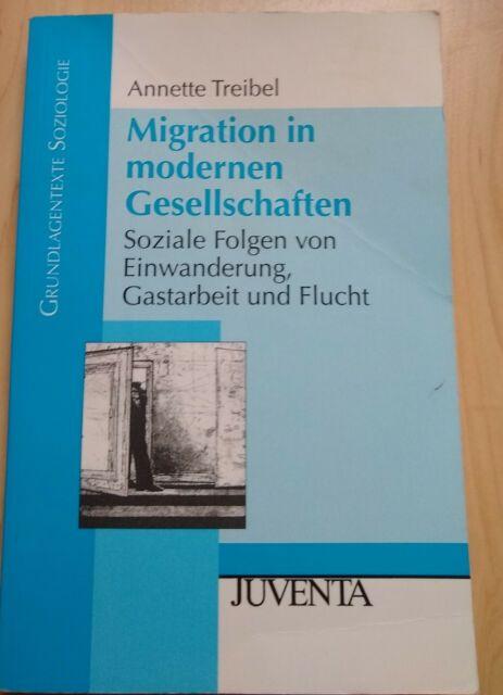 Migration in modernen Gesellschaften von Annette Treibel-Illian (Taschenbuch)