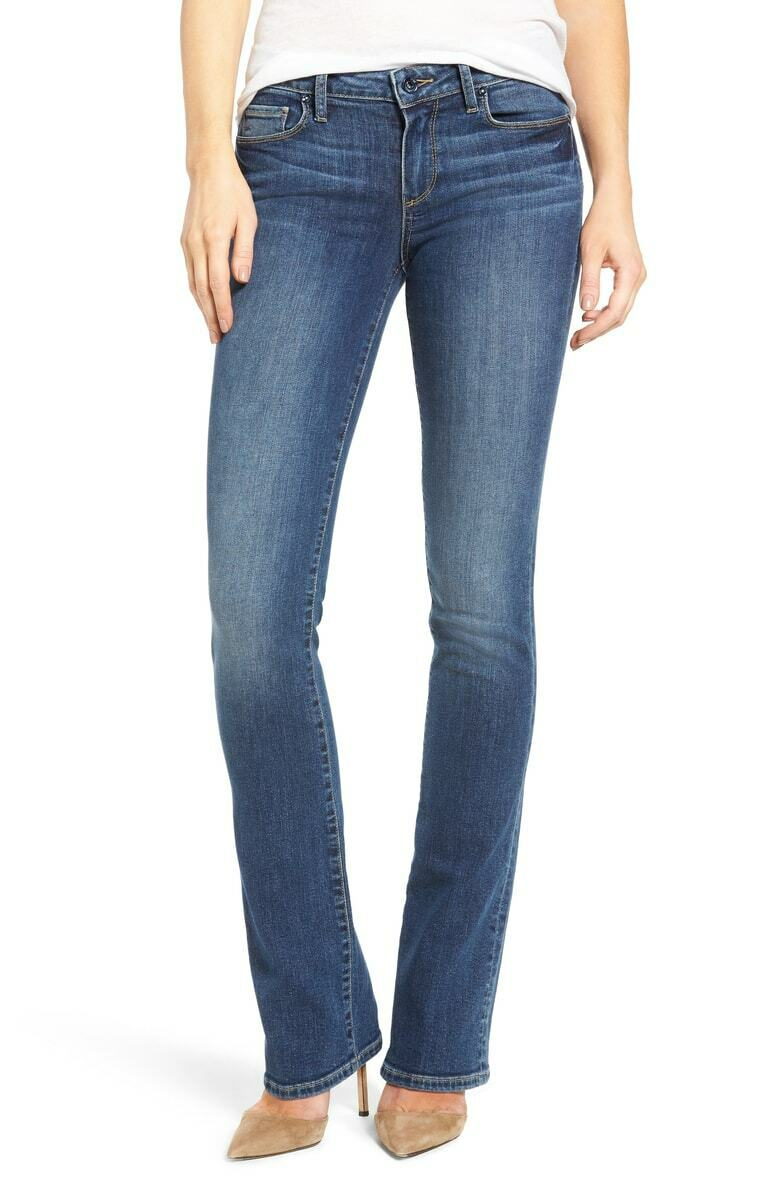 Paige Manhattan Bootcut Jeans Lane 23 x 34 NWT