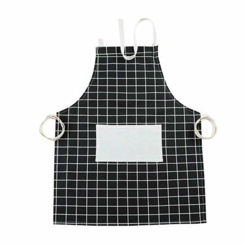 Chef Cooks Butchers BBQ Apron Women Kitchen Bib Cook Aprons With Pockets f