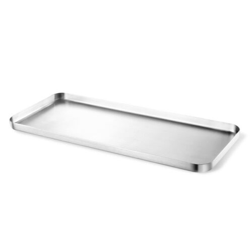 ZACK Contas Tray 12.6 x 5.31 x 0.63 In 20142 Stainless Steel