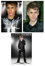 JUSTIN BIEBER TUXEDO LEATHER ON STAGE POSTER SET LOT 22x34 NEW FAST FREE SHIP