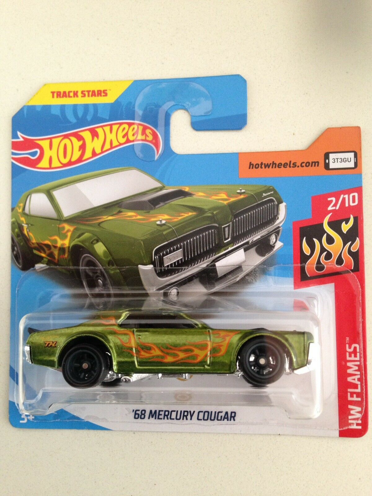 2019 Hotwheels'68 Mercury Cougar Super Secret Treasure Hunt-Nueva-Tarjeta Corta