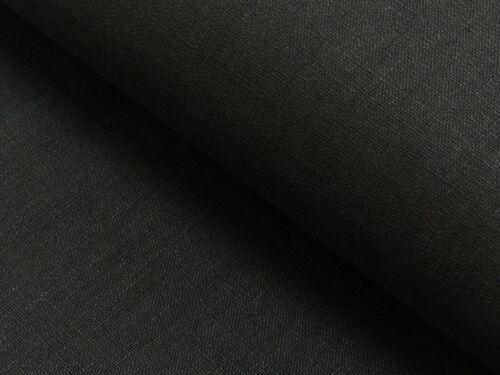 reines Leinen schwarz black