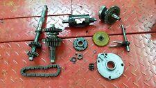 YAMAHA KODIAK 400 ATV   TRANSMISSION + FORK + CAM / DRUM + GEARS + BALANCE SHAFT