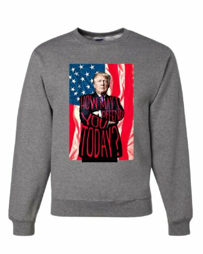 Comment puis-je offenser vous aujourd/'hui Sweat Donald Trump élections 2020 Pull