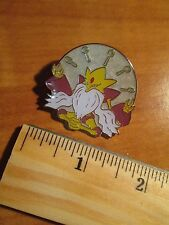 Mega M ALAKAZAM EX Metal PIN/BADGE Pokemon FATES COLLIDE Collection 26-118-124