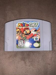 N64 Mario Golf (Nintendo 64, 1999) Cartucho De Juego Solamente