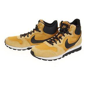 rural Notorio Disipación  Men's Nike MD Runner 2 Mid Premium Basketball Shoes, 844864 701 Size 9  Wheat/Blk | eBay