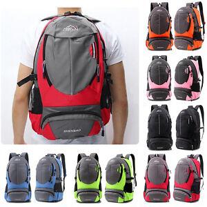 7f72ded2b45d 35L Men s School Hiking Travel Outdoor Sport Laptop Bag Unisex ...