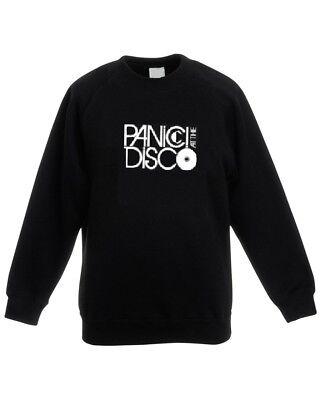Panic At The Disco Band Lyrics Men Women Unisex Top Hoodie Sweatshirt 1875E