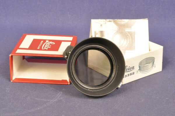 100% De Qualité Leica 13352 Ausschwenkbarer Filtre Polarisant/swing-out Polarizing Filter-r Polarisationsfilter / Swing - Out Polarizing Filter